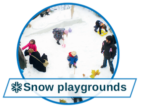 Events & Entertainment with snow playgrounds