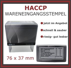 HACCP Kontrolle