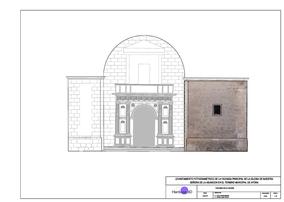 Fachada Renacentista Iglesia Cad