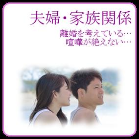 夫婦・家族関係:離婚を考えている、喧嘩が絶えない。