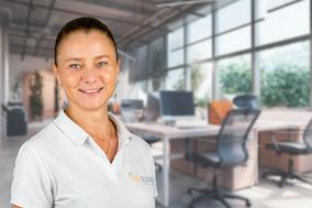 Portraitfoto von Rahel Affentranger, medizinische Masseurin BODYALARM