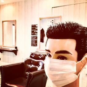千葉駅床屋バーバーリーヴァ風邪予防写真