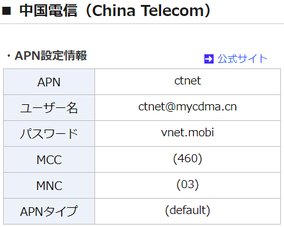 中国大連北京上海留学 中国電信 SIMカード設定