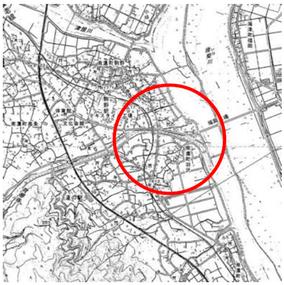 図14-2 2016年の地形図