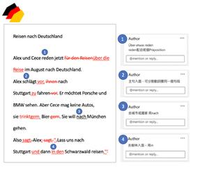 德文分析評論