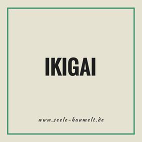 """Ikigai ist ein japanisches Wort, das so viel bedeutet wie """"der Grund zu sein"""" oder """"der Grund, warum wir jeden Morgen aufwachen""""  """"das, wofür es sich zu leben lohnt"""""""