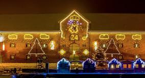 Weihnachtsmarkt, Tönning, Packhaus, Weihnachtskalender, Entrich