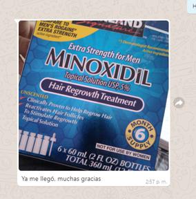Minoxidil Kirkland opiniones de clientes comprar mexico