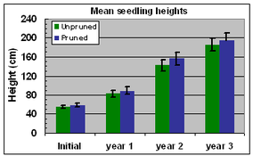 Fig. 8 Seedling heights