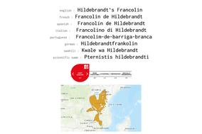 distribution of Hildebrandt's Francolin
