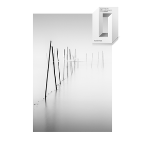 Berlin, Müggelsee, Langzeitbelichtung, longexposure, schwarz-weiß, Minimalismus, minimalism, minimalist, minimalistisch, Holger Nimtz, Wandbild, Kunst, fine art, fotokunst,