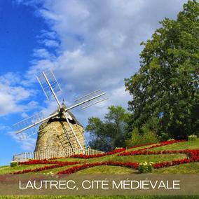 Lautrec Tarn moulin à vent Ail Rose de Lautrec