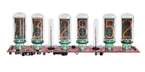 Apple Wood Nixie Clock