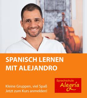 Spanisch lernen mit Alejandro