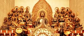 阿弥陀如来・二十五菩薩 重要文化財