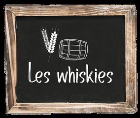 CQFD - Ce Qu'il Faut Déguster • Les whiskies