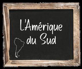 CQFD - Ce Qu'il Faut Déguster • L'Amérique du Sud