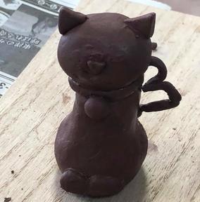 猫ちゃん(尻尾が♡)