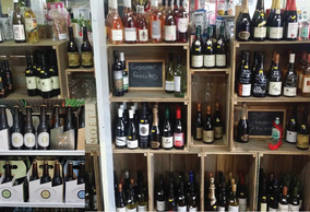 Expertly selected wines available at Kallista General Store & Cellars