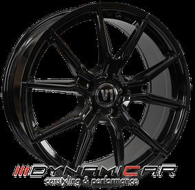 V1 Wheels V1 Schwarz glänzend