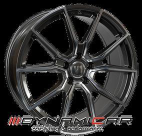 V1 Wheels V1 Daytona Grau Poliert