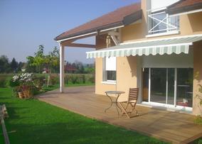 Terrasse ipé, terrasse pin autoclavé, terrasse bois thermotraité