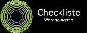 gratis Checkliste Warenannahme