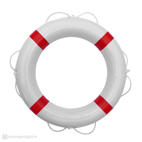 Rettungsring Weiß-Rot