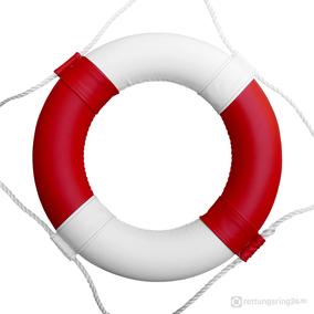 Rettungsring Rot-Weiß