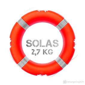 Rettungsring Solas 2,7 kg