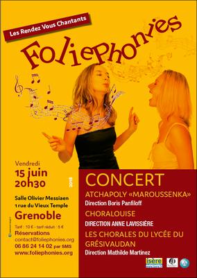 En concert à Grenoble avec Atchapoly