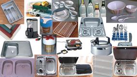 Zubehör für Küche im Wohnmobil, Wohnwagen, Campingbus