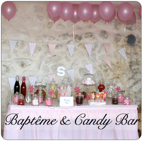 En image baby pop 39 s party d coration baby shower france for Decoration bapteme fille
