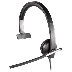 Logitech USB Headset Mono H650e disponible ici.