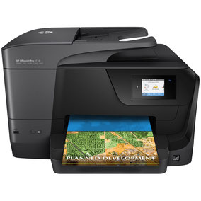 HP Officejet Pro 8710 disponible ici.