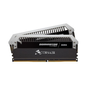 Corsair Dominator Platinum 16 Go (2x 8 Go) DDR4 3600 MHz CL18 disponible ici.