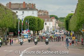 Chalon/Saône: départ de la dernière étape..............