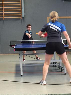 Daniela Kos gewann gegen Freckenhorst ein Einzel.