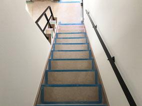 フラットバー!階段手摺と壁付け手摺