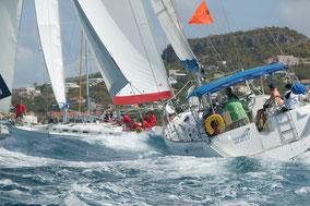 Impressie Heineken St Maarten regatta