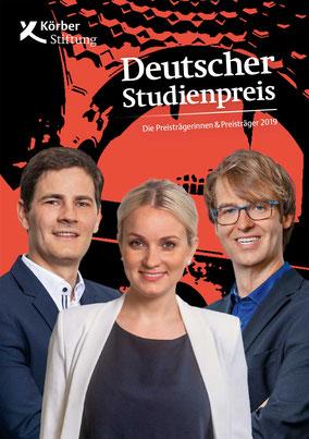 Erstpreisträger Kilian Huber, Katharina Neumann und Frederik Kotz