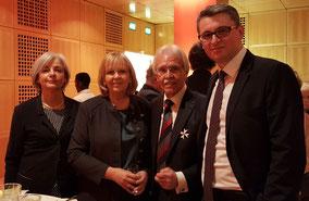 VLNR: Elfrun Bernshausen, Hannelore Kraft, Rudolf Biermann, Patrick Fick