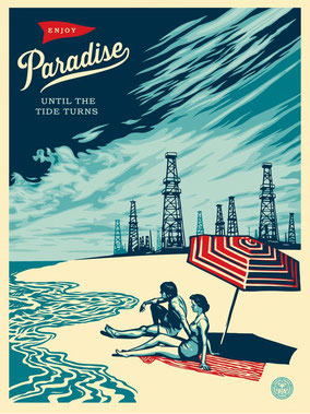 Shepard Fairey Paradies Turns