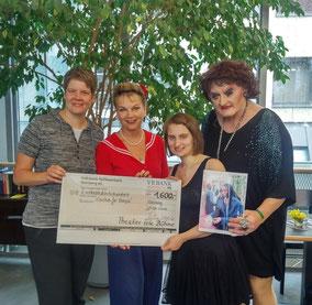 Von links: Andrea Kuhn, Julia Kempken, Franziska Baumann, Uschi Unsinn
