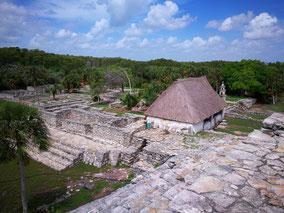 Xcambó piramid close to Telchac Puerto