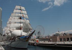 帆船日本丸と横浜みなと博物館