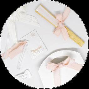 Kit Wedding Bags e Partecipazione coordinata