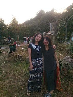 魂の姉妹、美和さんと。