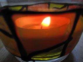 Kerze - bringe Licht in deine Räume