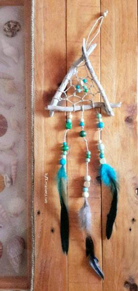 atrapasueños, madera de mar, vymcreaciones, vymcreaciones.com, turismo asturias, driftwood art, etsy, driftwood, decoracion con palos